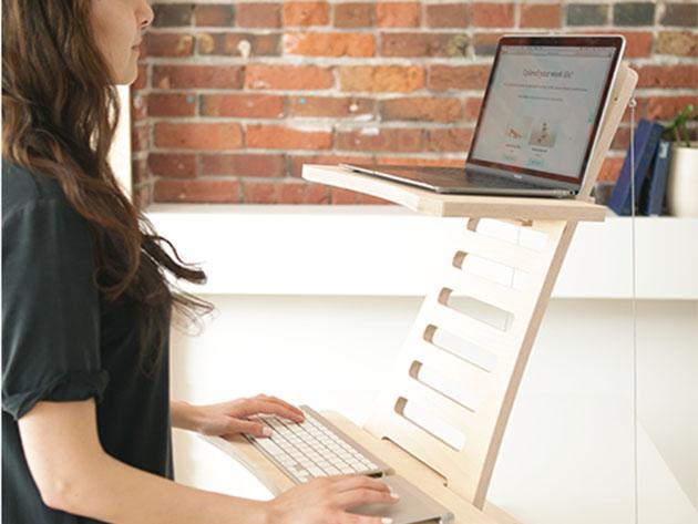 Stan Desk: Adjustable Standing Desk for $199