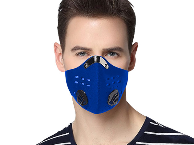 Reusable Dust-Proof Mask with 5 Filters for $21