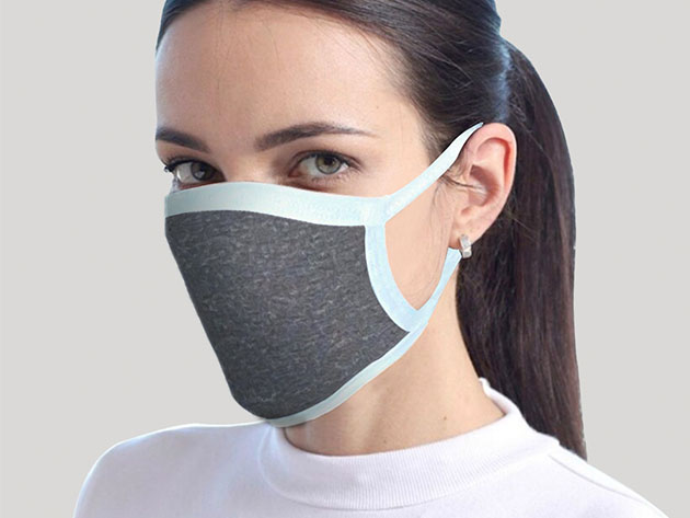 Reusable Face Masks: 2-Pack for $17