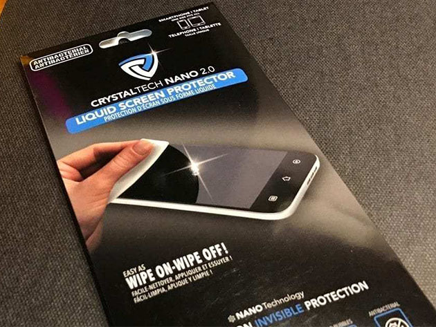 Antibacterial Nanotechnology Liquid Screen Protector for $15