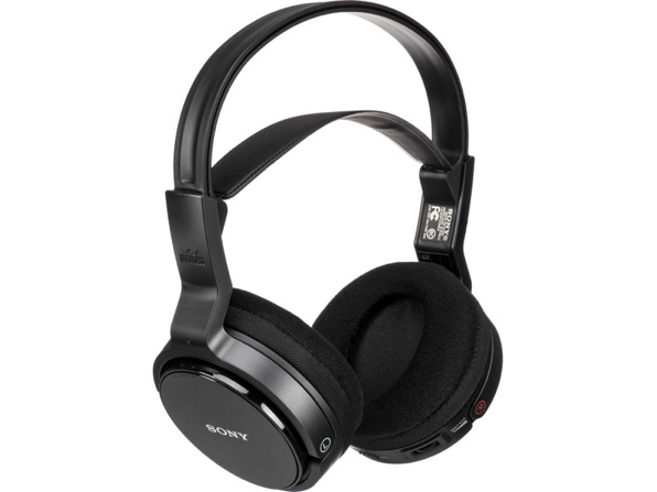 Sony MDR-RF912RK Over-Ear Wireless RF Stereo TV Headphone System (Open Box) for $32