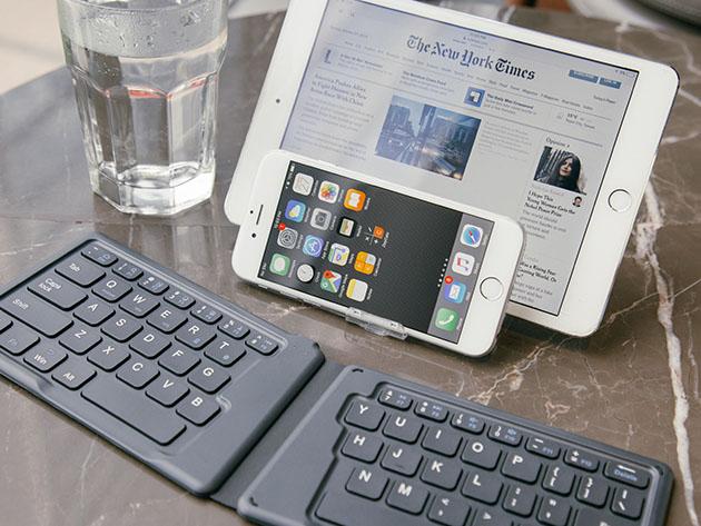 Gotek Voyage Ergonomic Bluetooth Keyboard for $74