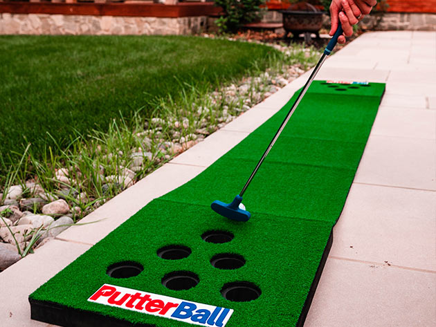 PutterBall Backyard Golf Game for $169
