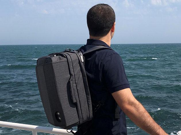 MiniLux Convertible Laptop Bag for $119