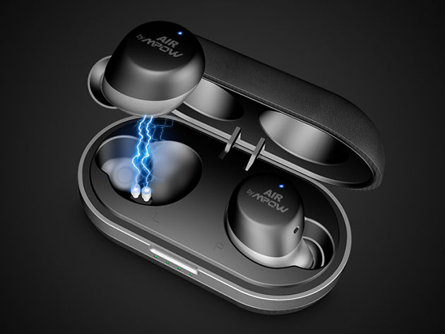 MPOW X5.0 True Wireless Headphones with Charging Case for $69