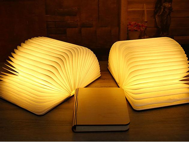Oakwood Booklet Lamp for $47