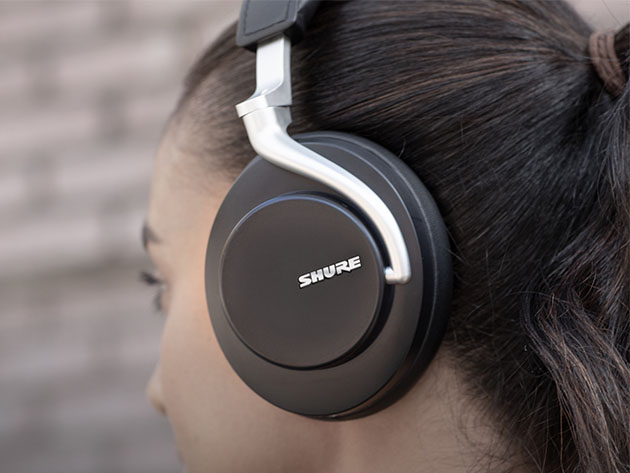 Shure AONIC 50 Wireless Noise-Cancelling Headphones for $399