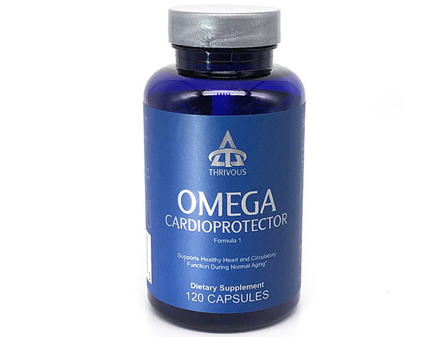Omega Cardioprotector Dietary Supplement for $33