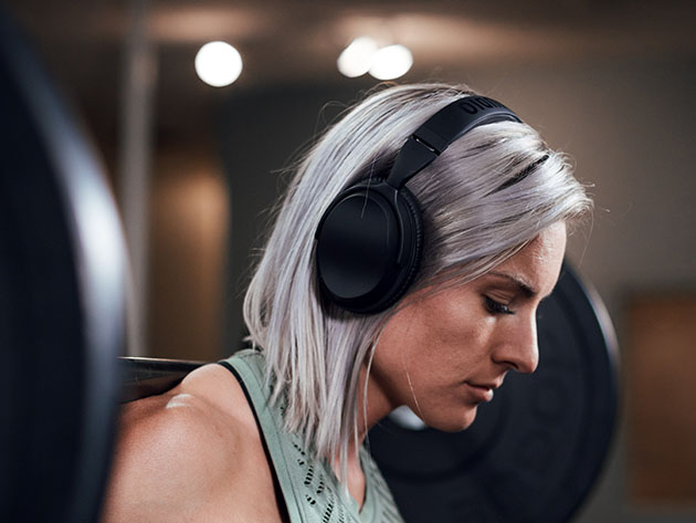 HUM 1000 Wireless Active Noise Cancelling Headphones for $89