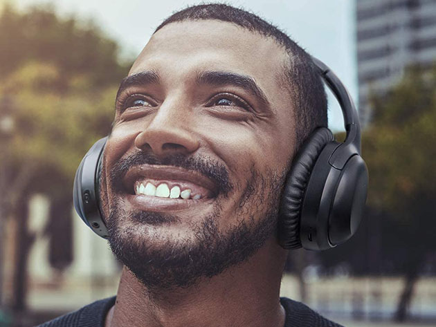 BesDio Noise-Cancelling Bluetooth Headphones for $39