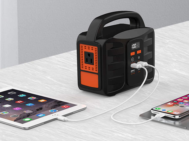 NTONPOWER Portable Power Station for $109