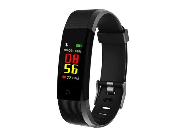 Waterproof Fitness Tracker with Sports & Overall Health Functions for $22