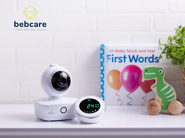 Bebcare iQ Wi-Fi HD Smart Baby Monitor for $258