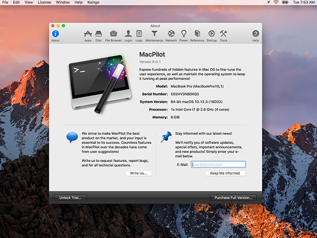 MacPilot 11: Optimizing Software for Mac (Lifetime Subscription) for $39
