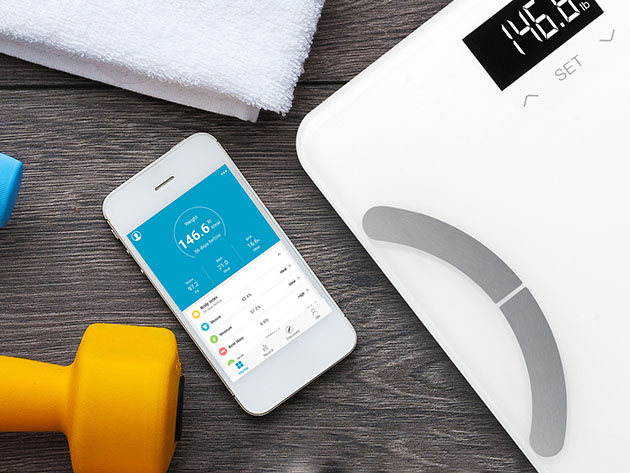 Vitalis Body Fat Scale for $20