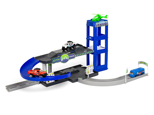 Super City Vehicle Building Multi-Piece Playset for $15