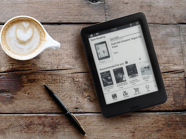 BOOX Poke Pro 6″ E-Ink Carta™ E-Reader Tablet  for $169