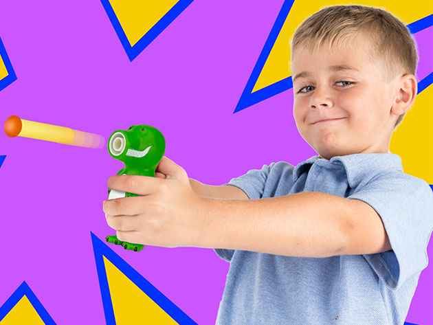 Children Dart Target Blaster Game with Animal Shooters for $15