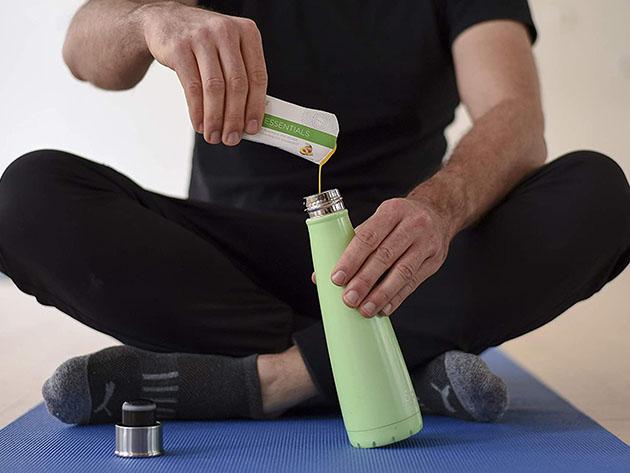 Vegan Essentials Liquid Gel Multivitamin for $48