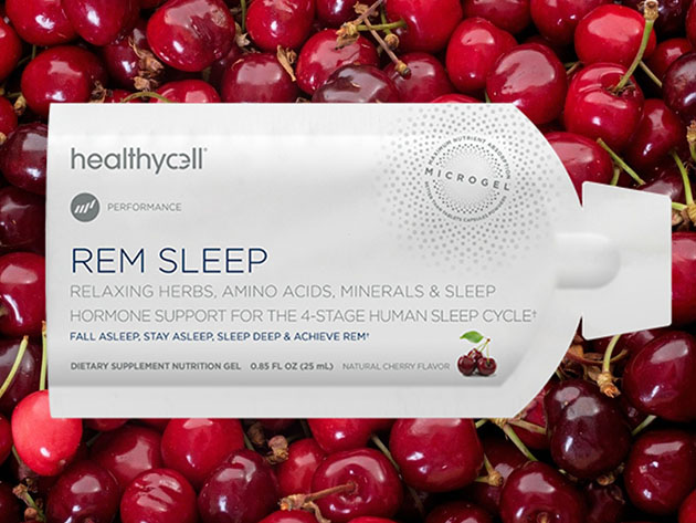 REM Sleep Liquid Gel Dietary Supplement for $49