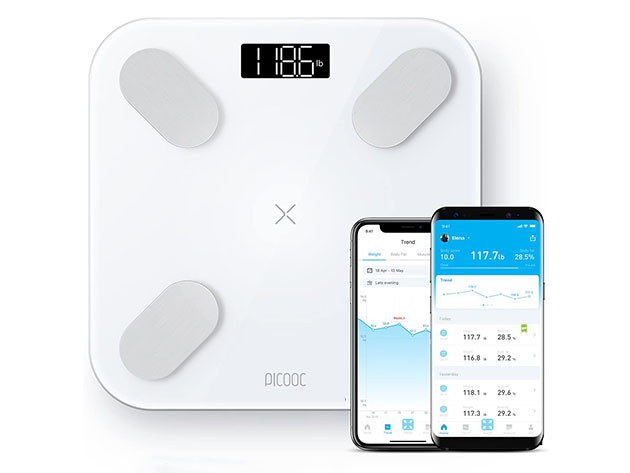 S1 Pro Body Composition Bluetooth Smart Scale for $64
