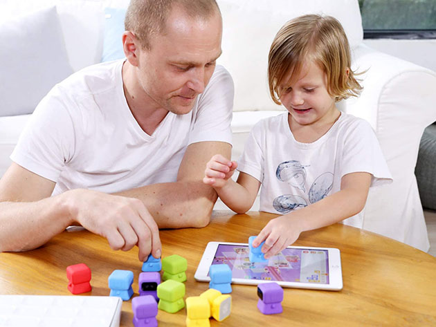 Tangiplay: Tangible Coding Toys + Interactive Puzzles Solving Games for Kids for $84