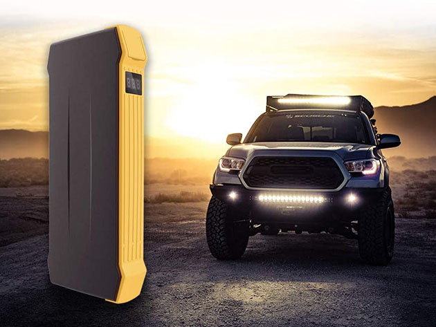 Autowit 12V Portable No-Battery Car Jump Starter for $121