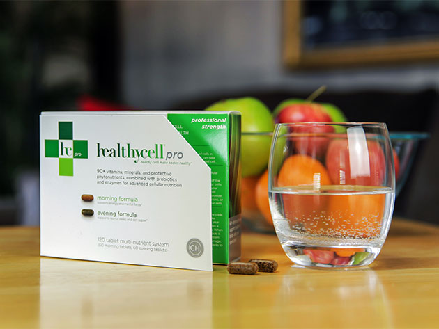Healthycell® Pro AM/PM Cell Health System for $129