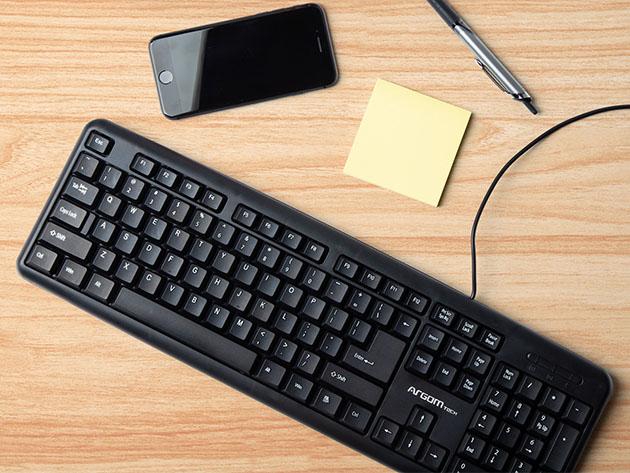ArgomTech USB Keyboard for $16
