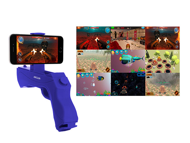 Augmented Reality Portable Game Gun for Smartphones for $19