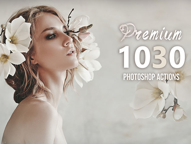 1,030+ Premium Photoshop Actions Bundle for $8