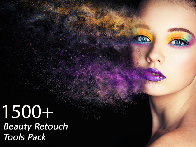 1,500+ Beauty Retouch Tools Pack for $29
