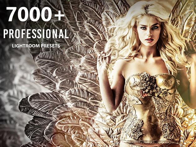 7000+ Professional Lightroom Presets for $39