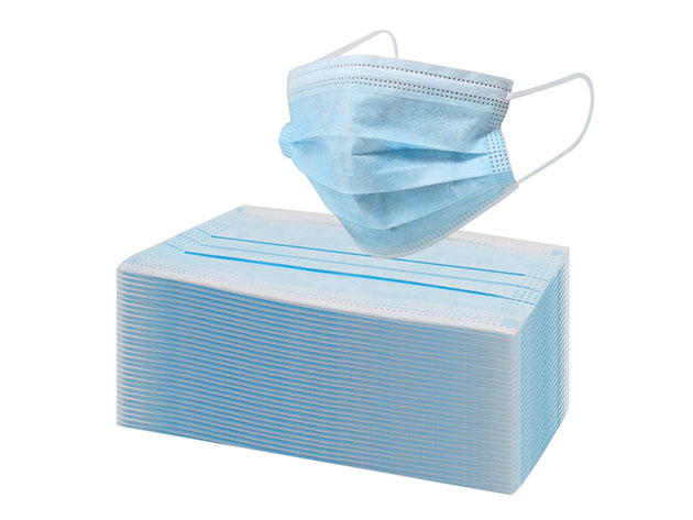 Disposable Surgical Face Mask Bundle for $43