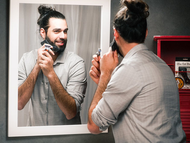 The Cut Buddy: Beard-Shaping & Hair-Trimming Guide for $11