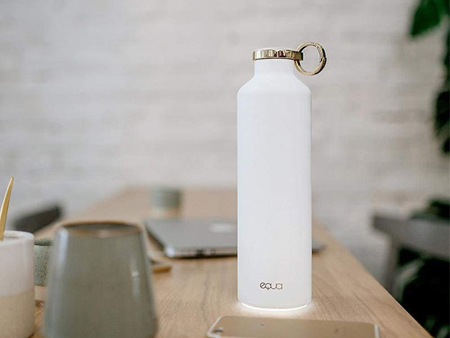 EQUA Smart Water Bottle for $54