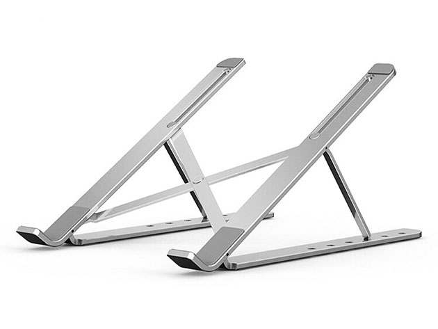 Aluminum Portable Foldable Laptop Stand for $29