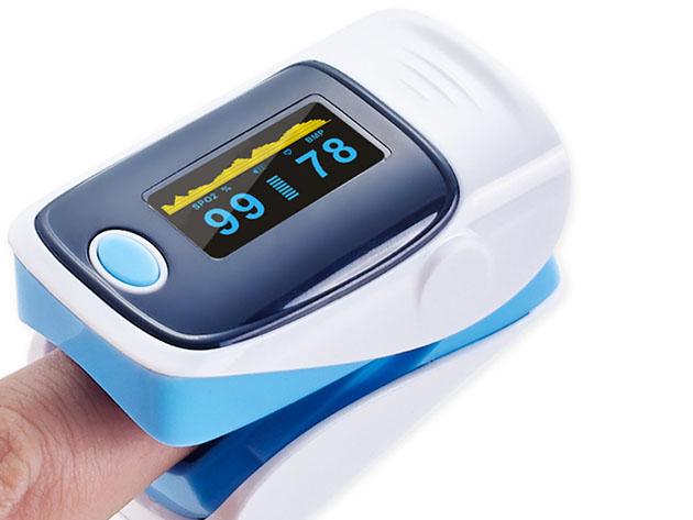Fingertip Pulse Oximeter for $44