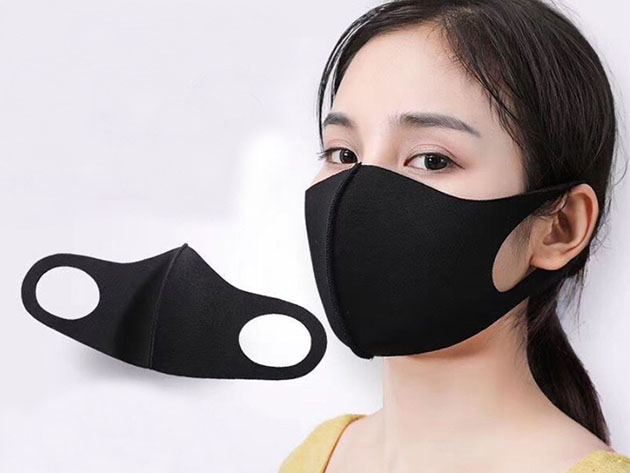 Washable 3D Masks: 10-Pack for $33