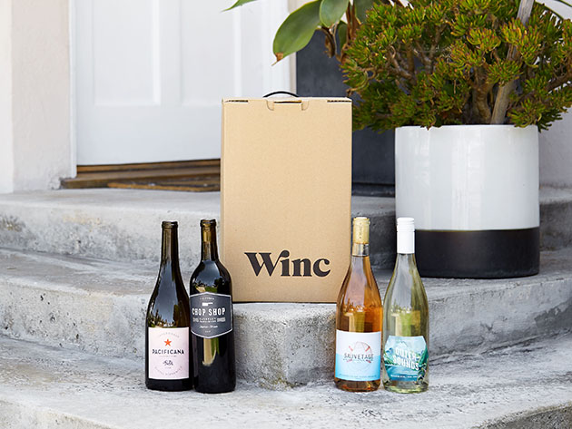 Winc Wine Delivery: $155 of Credit for 12 Bottles for $93