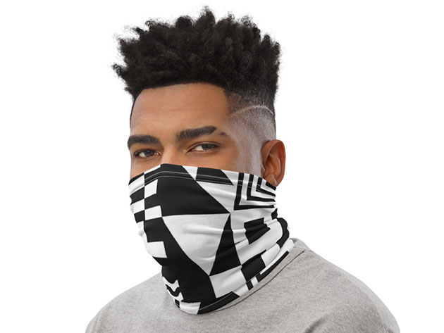 Cool Print Face & Neck Cover for $19