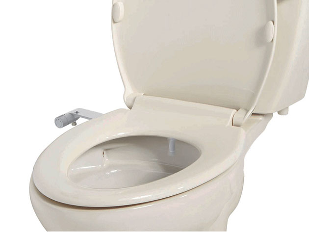Aim to Wash! Bidet Attachment for All Toilets for $49