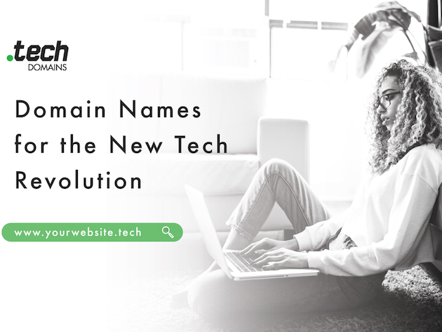 FREE COUPON: 80% off .TECH Domains for $50