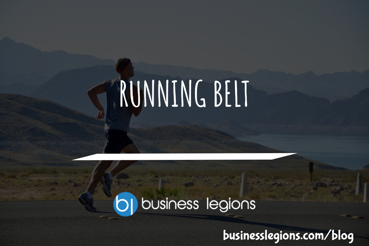 Business Legions Running Belt