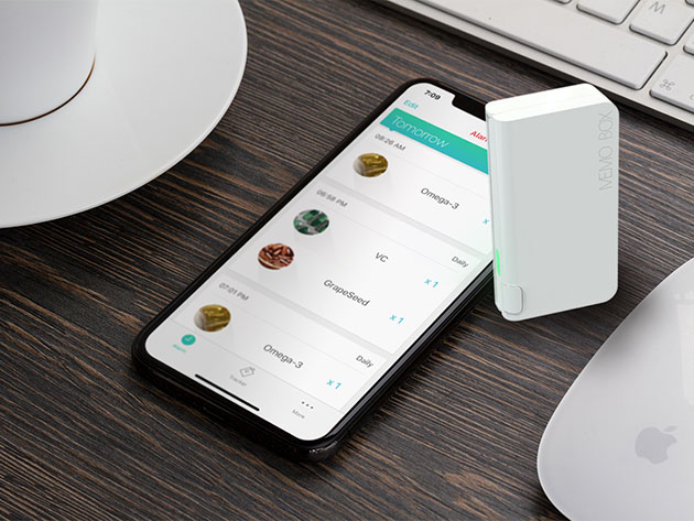 Memo Box: 7-Day Super Intelligent Pill Box for $169