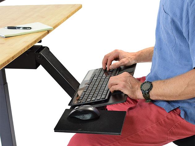 KT2 Adjustable Under-Desk Keyboard Tray for $110