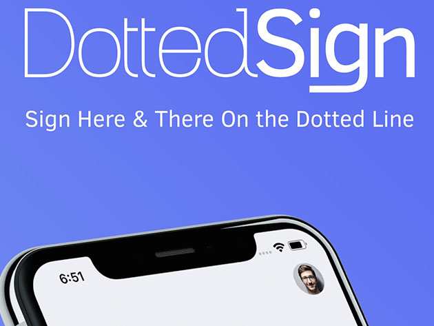 DottedSign Pro e-Sign Platform: 3-Yr Subscription for $59