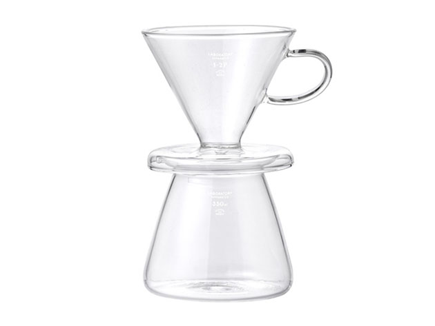 Glass Coffee Dripper Set for $57