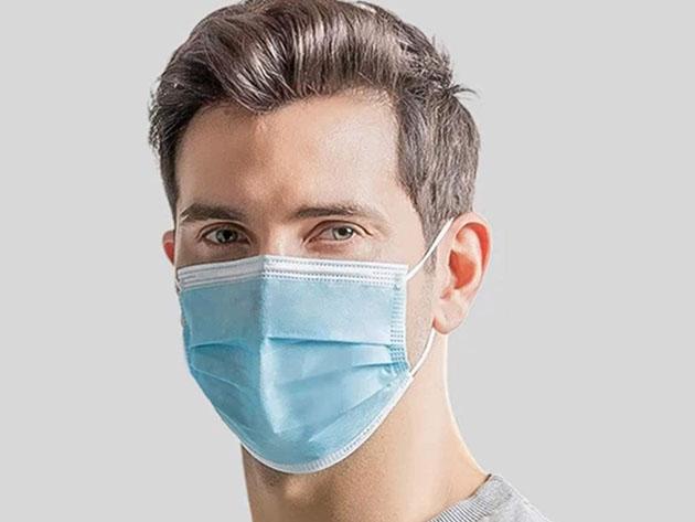 FDA-Registered 3-Ply Face Masks for $17