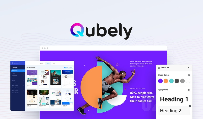 Lifetime Deal to Qubely for $49